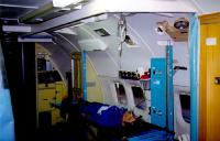 Modified DC-9 for Aeromedical Transport