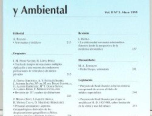 Revista Medicina Aeroespacial y Ambiental 1999-2008